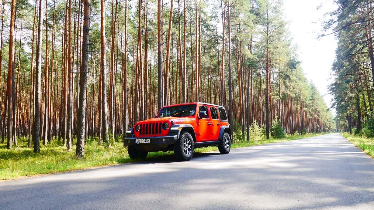 Jeep Wrangler Rubicon JL - ilość dżipa w dżipie