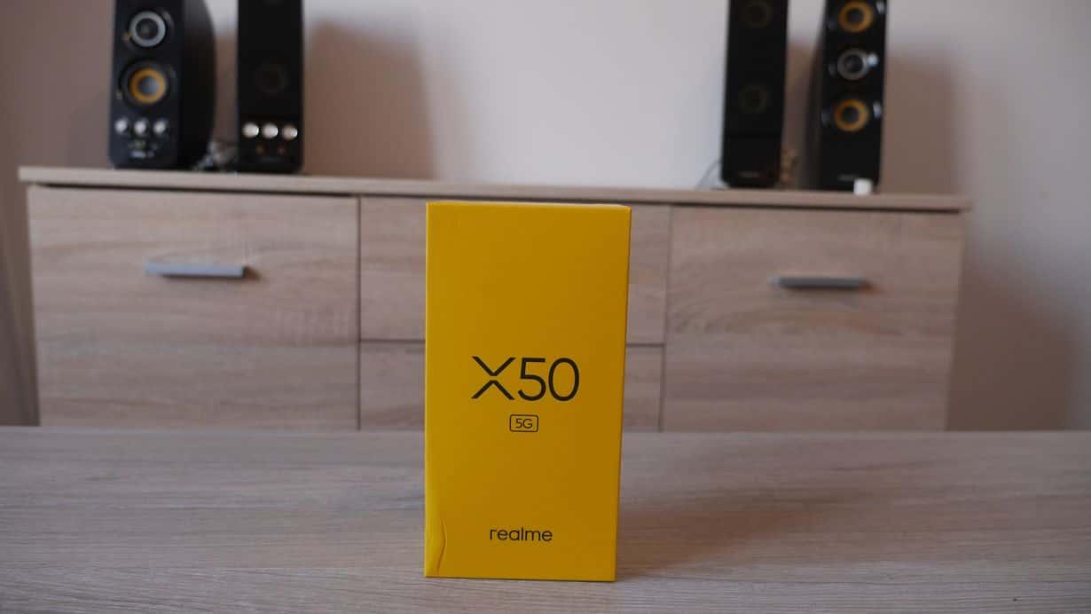 Test Realme X50 5G