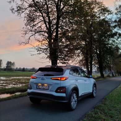 Hyundai Kona Electric udowadnia, że auto na prąd ma sens
