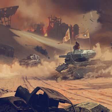 Korn i World of Tanks Blitz