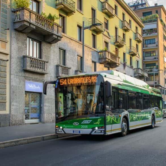 Sto autobusów Urbino 12 electric pojawi się w Mediolanie