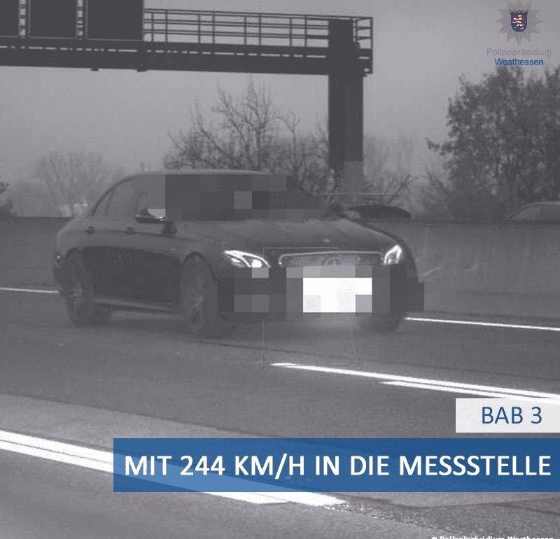 Ponad trzykrotne przekroczenie prędkości? Takie rzeczy tylko w Niemczech
