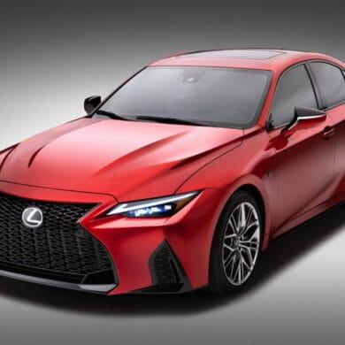 Lexus IS 500 F - w Europie stop smog, go hybrid. W USA? Króluje V8