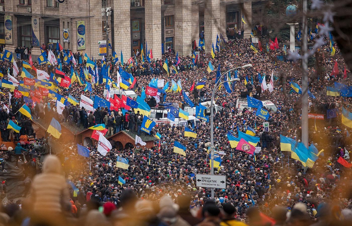Euromajdan rozpoczął konflikt na Ukrainie. A to z kolei pobudziło do działania Rosję