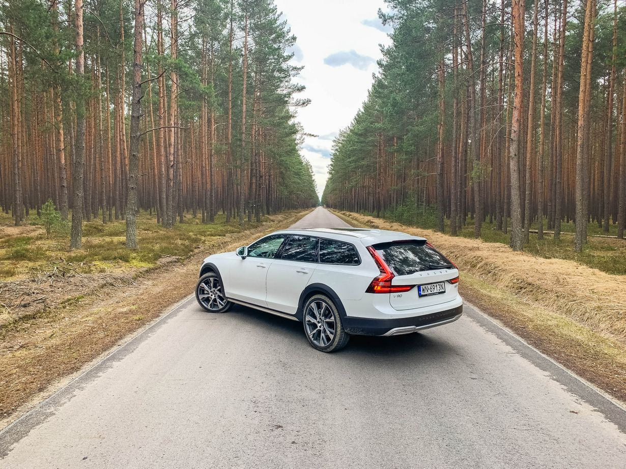 Volvo V90 CC - ani cross, ani country
