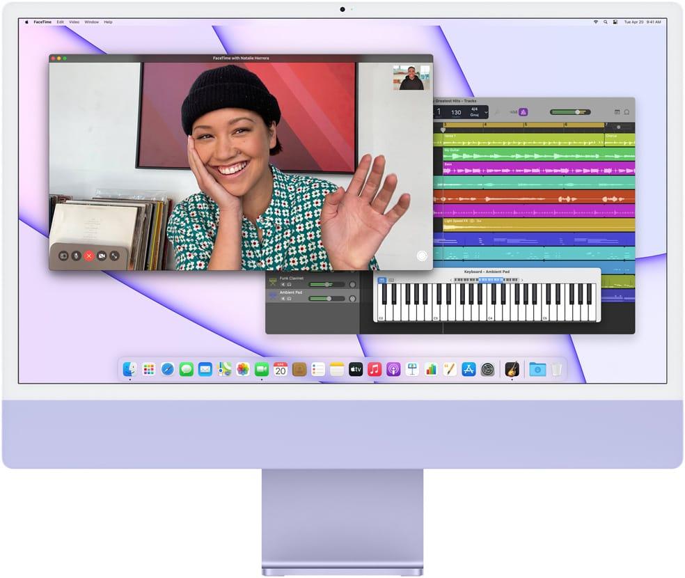 Nowy Apple iMac z procesorem M1 to najpiękniejszy komputer all-in-one
