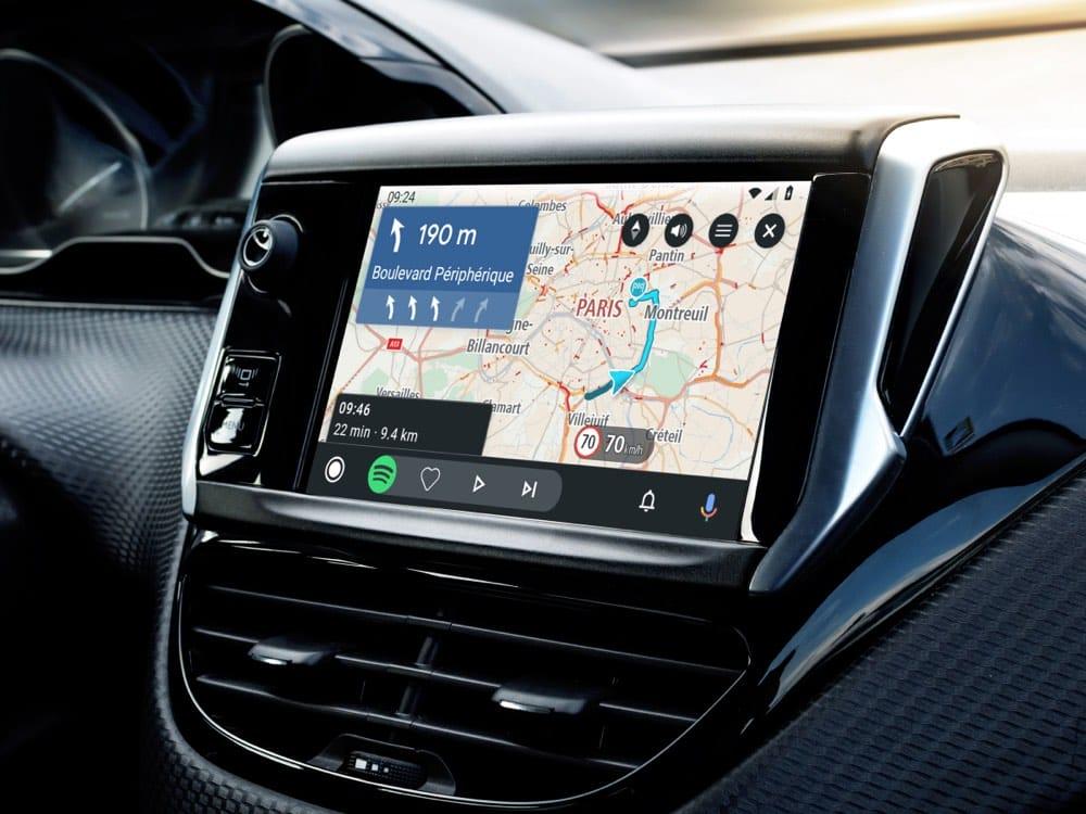 Alternatywa dla Google Maps. TomTom GO dostępna w Android Auto