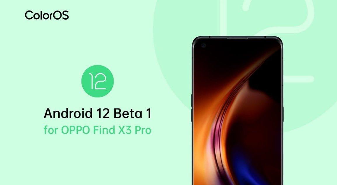 OPPO Find X3 Pro jako jeden z pierwszych z Android 12