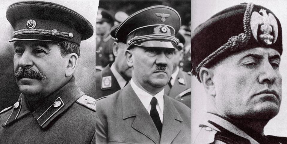 Stalin, Hitler, Mussolini