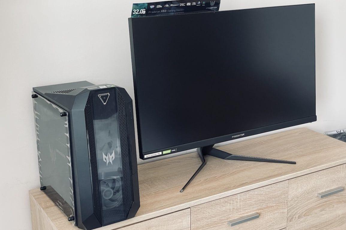 Predator XB323U - test monitora dla graczy