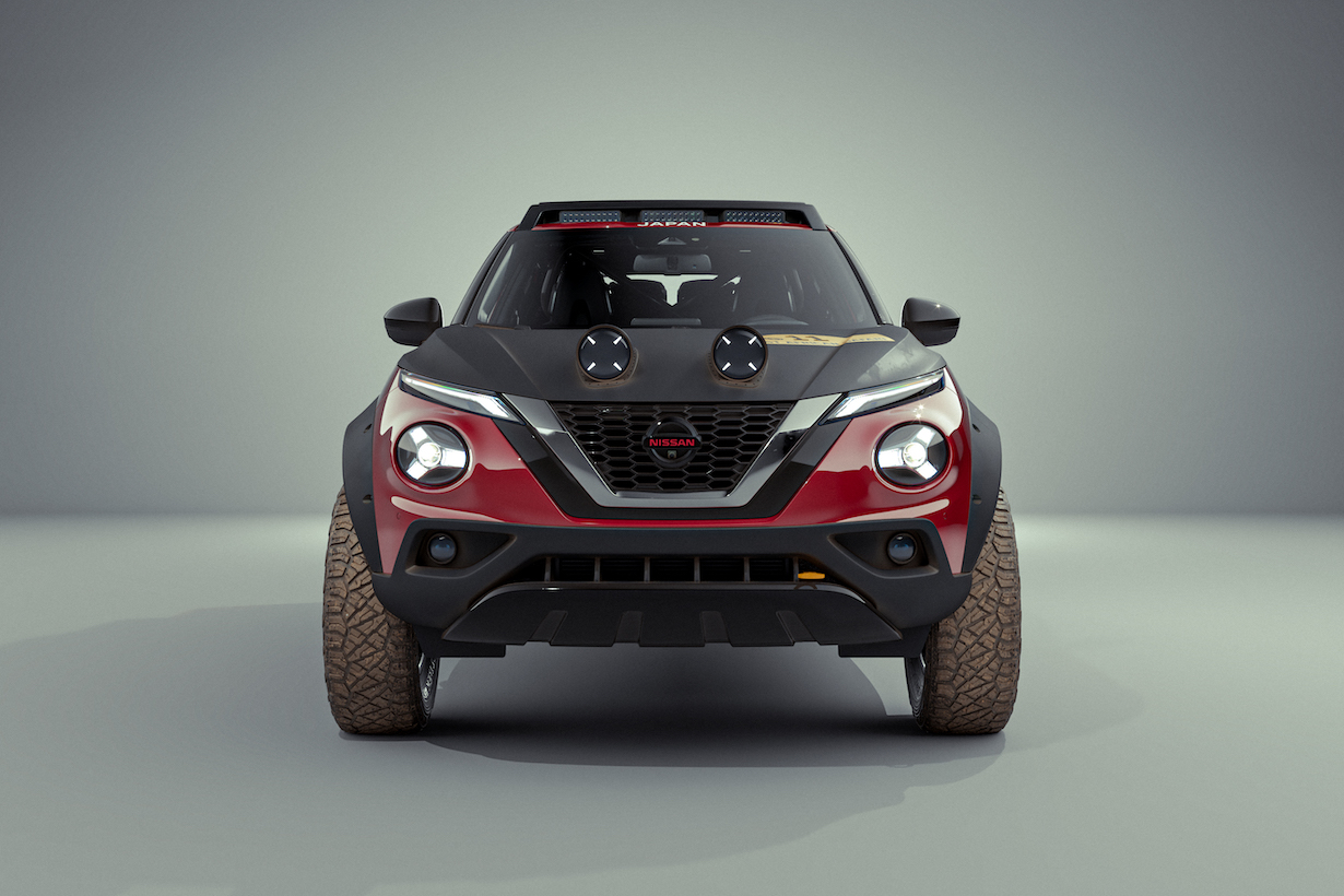 Nissan Juke Rally Tribute Concept. Dla Terenwizji i każdego fana off-roadu