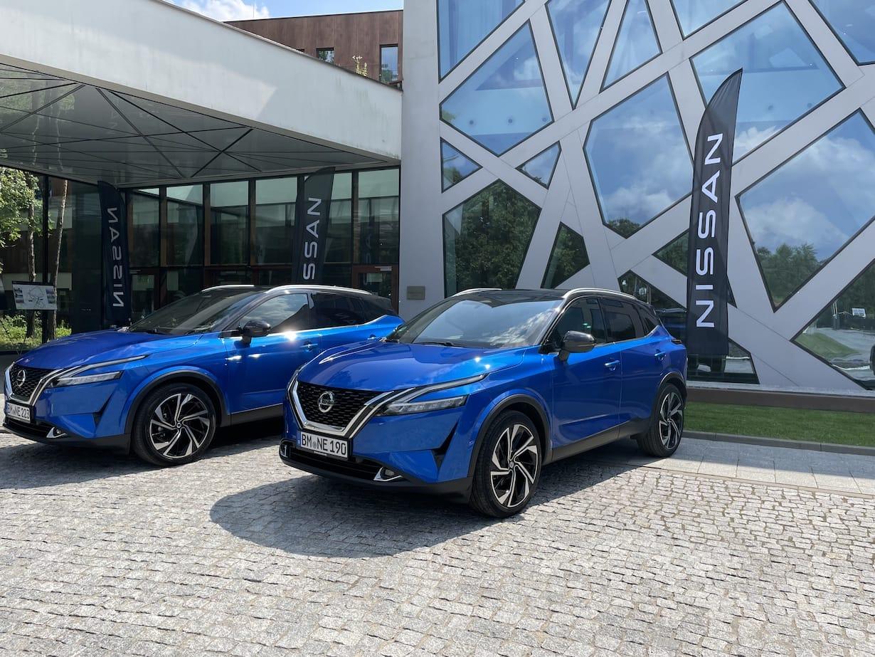 Nowy Nissan Qashqai 2021 - test, pierwsza jazda testowa, opinia