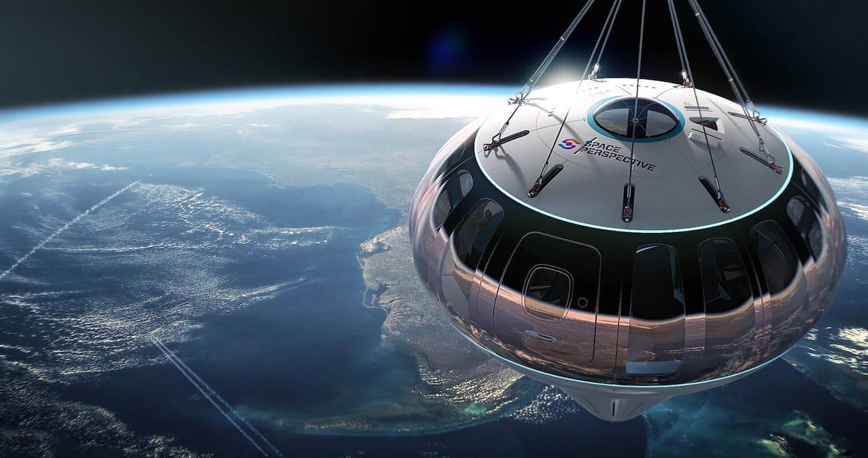ślub w kosmosie Space Perspective