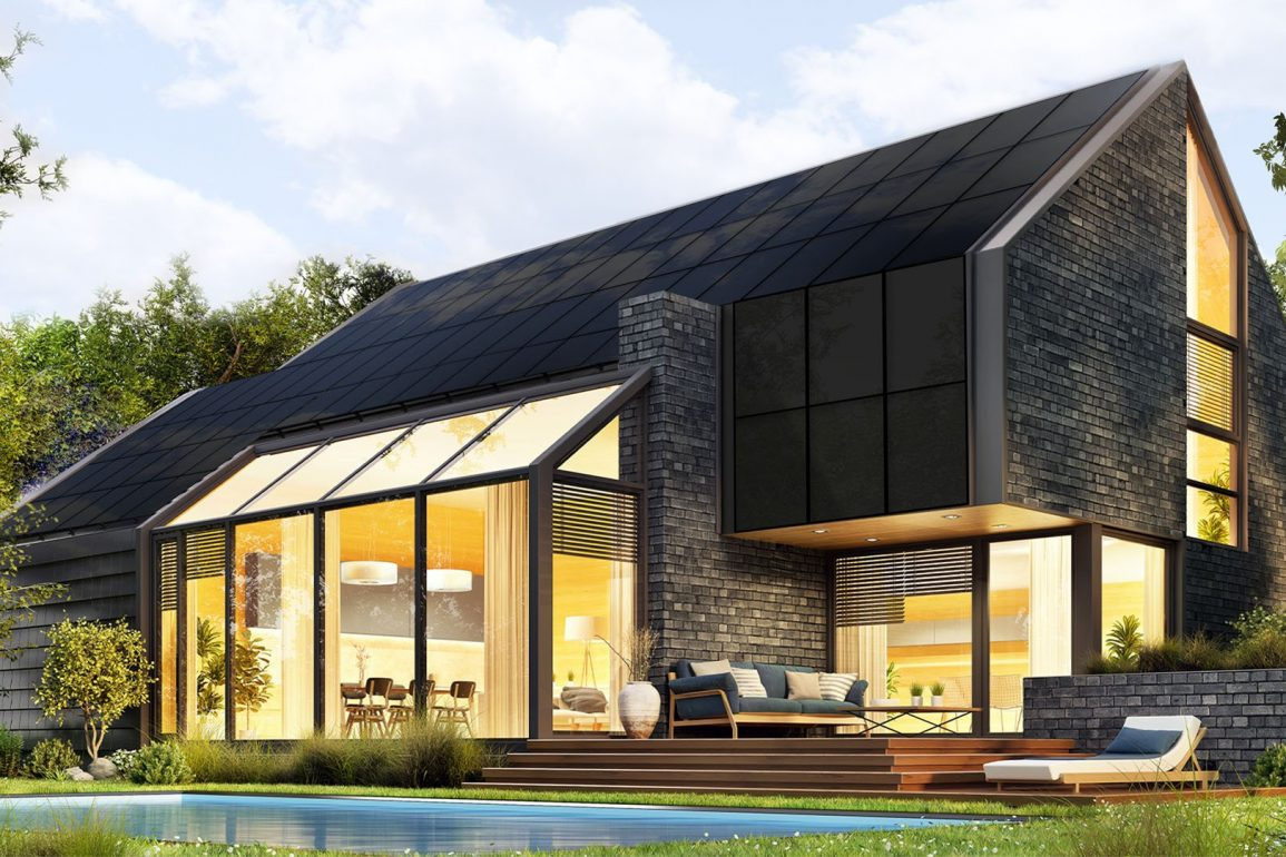 Panele fotowoltaiczne Sunroof wbudowane w konstrukcję dachu