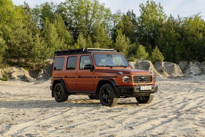 Mercedes-Benz Klasy G w wersji PROFESSIONAL - prawdziwa terenówka