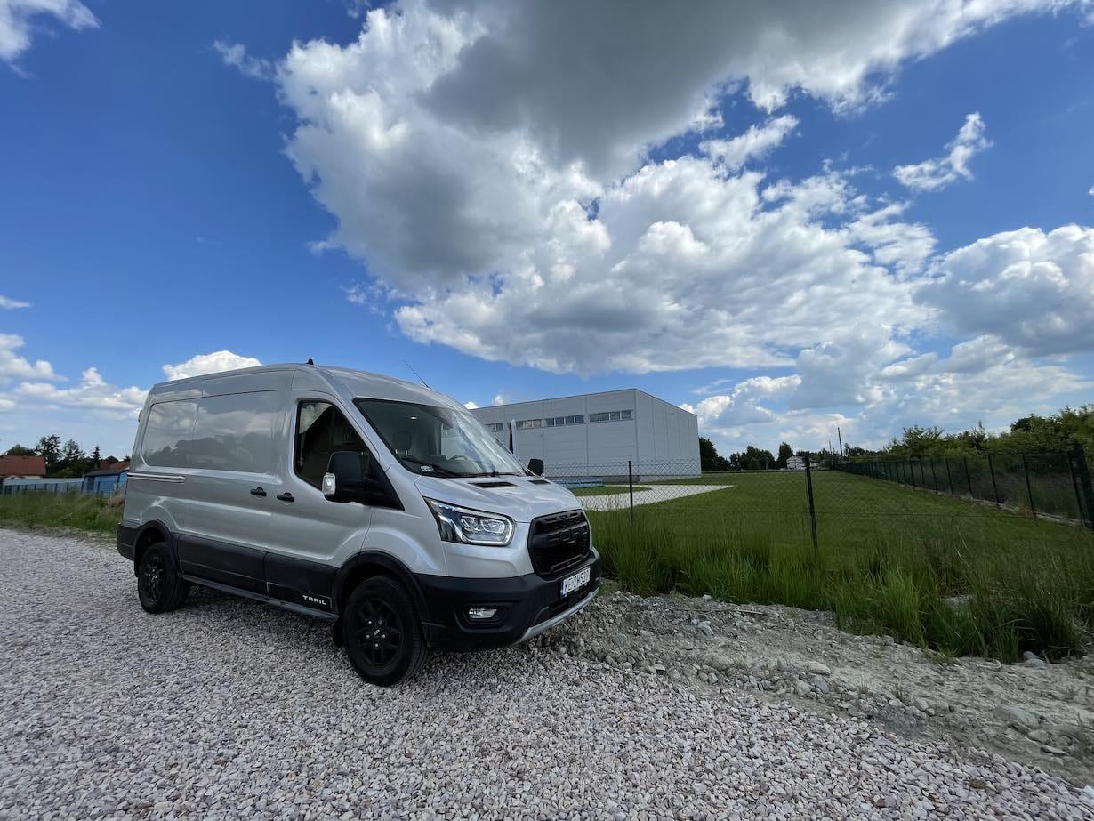 Ford Transit Trail AWD - jeszcze dostawczak czy już terenówka?