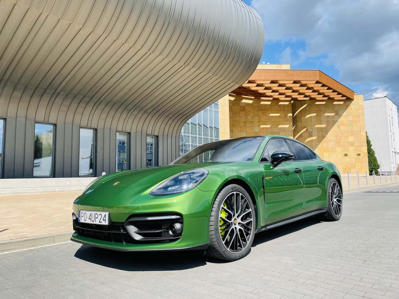 Test Porsche Panamera 4S E-Hybrid – szybko i oszczędnie