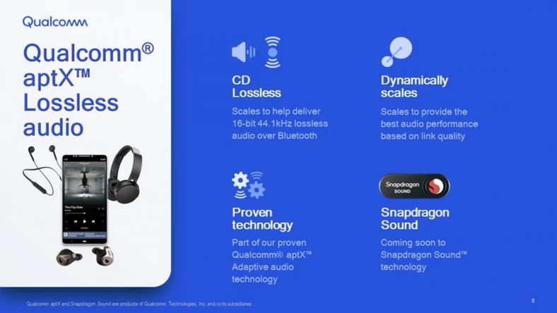 Snapdragon Sound aptX Lossless