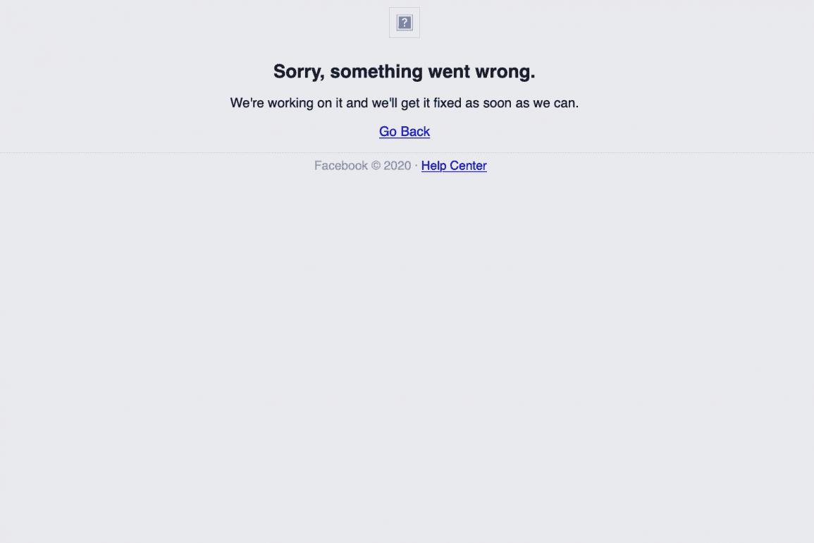 Awaria Facebooka! Facebook nie działa, Messenger i Instagram również